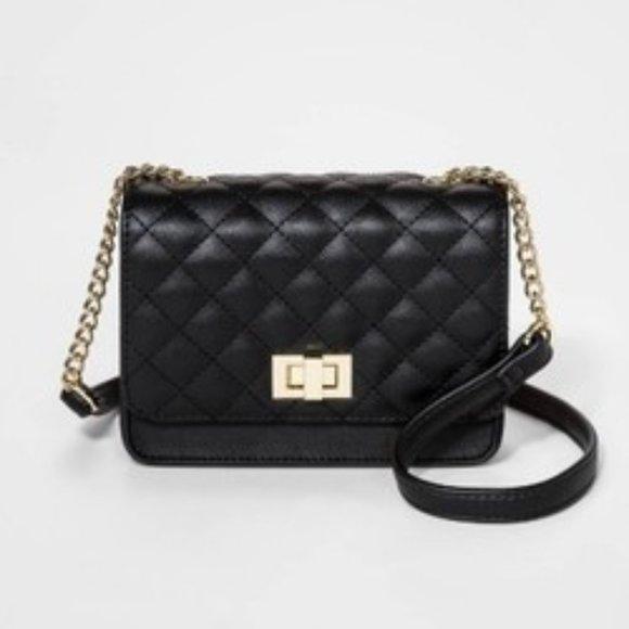 art class Other - Girls' Turn Lock Quilted Handbag - art class Black